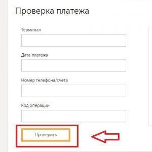 Кликнуть «Проверить»