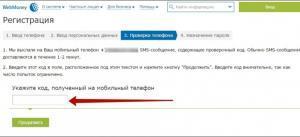СМС-пароль