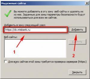 Надежные веб-адреса