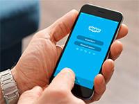 Мобильное приложение Skype