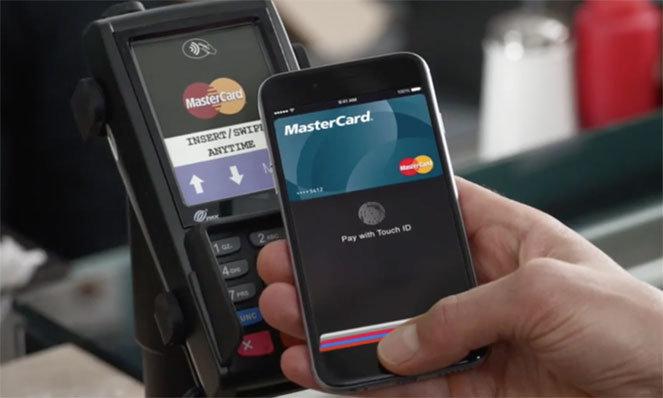 Бесконтактные платежи Apple Pay с MasterCard