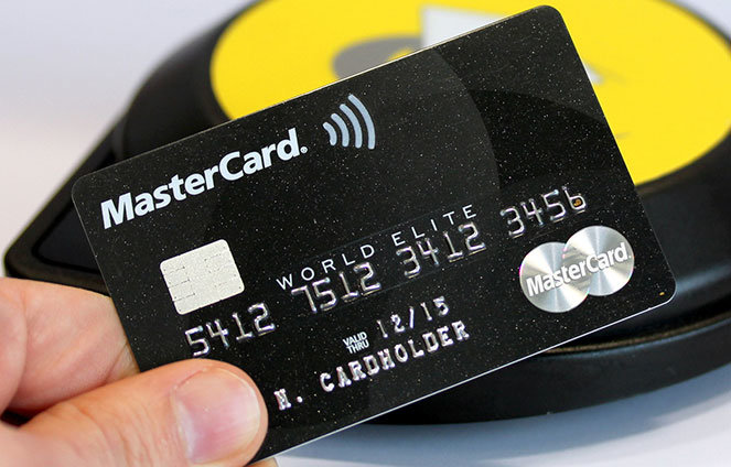 Карта бесконтактной оплаты MasterCard