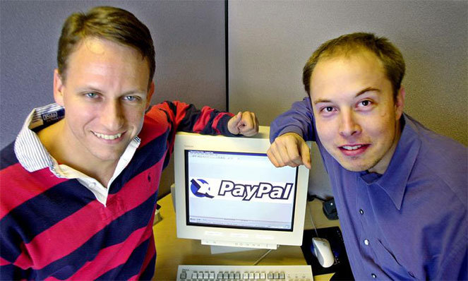 Основатели PayPal