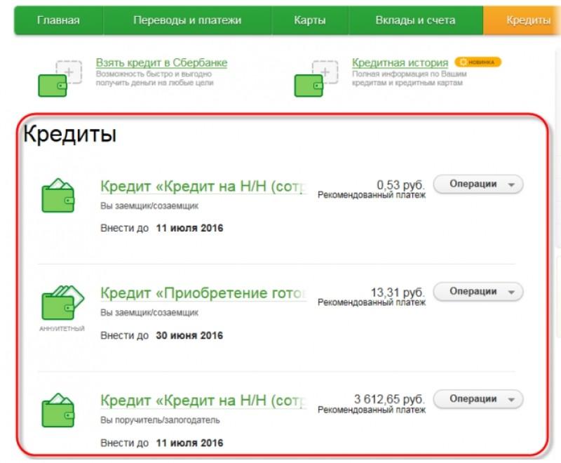 Получить информацию по кредиту сбербанка взять кредит в сбербанке без поручителей пенсионеру