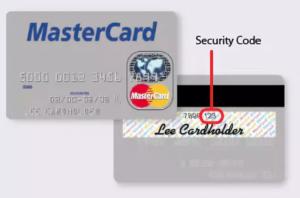 Код в системе MasterCard